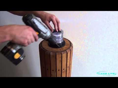 Solar Marine Light's  Installation Video