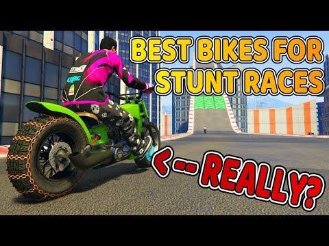 Top 8 Best Bikes For A Stunt Race 2020 Gta Online Youtube