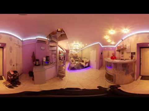 VIP Hotel Nevsky снятый на камеру 360 градусов.