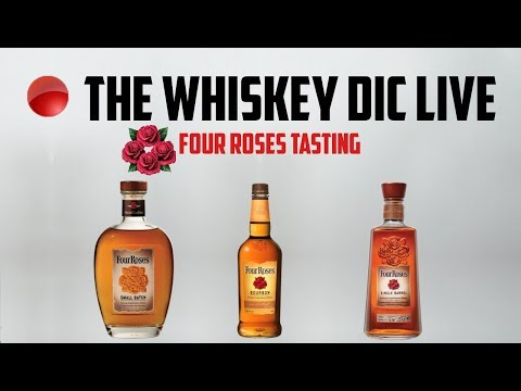 Four Roses Bourbon - Yellow Label, Small Batch, Single Barrel Side by Side