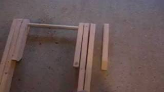 Folding Wooden Work Table Part 7 Of 9