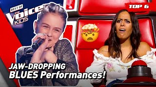 SWINGING BLUES Performances to Dance to in The Voice Kids! 😎   Top 6