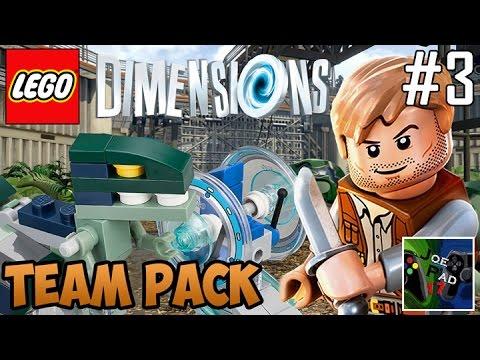 BENTORNATI AL JURASSIC WORLD! - LEGO DIMENSIONS #3 (ITA) (HD)