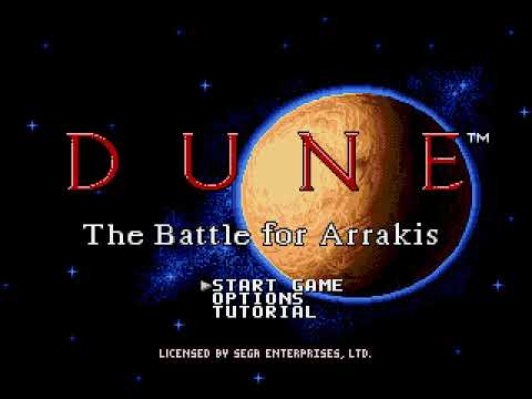 Mega Drive Longplay [468] Dune: The Battle For Arrakis (Part 1 Of 3) Atreides
