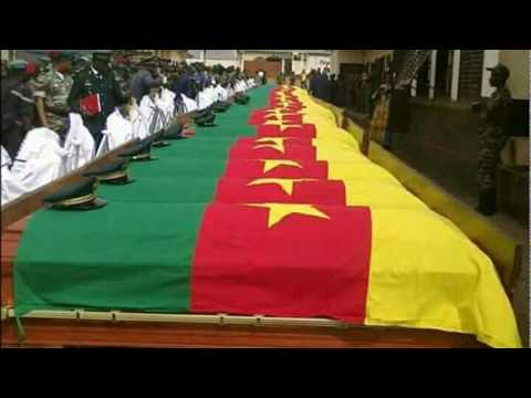 State Burial for La Republic Du Cameroon Army Soldiers!