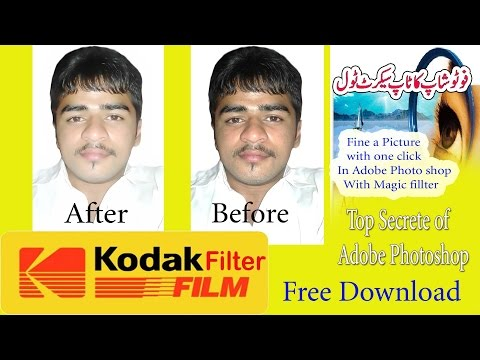 How to install & get Adobe photoshop kodak plugins kodak magic