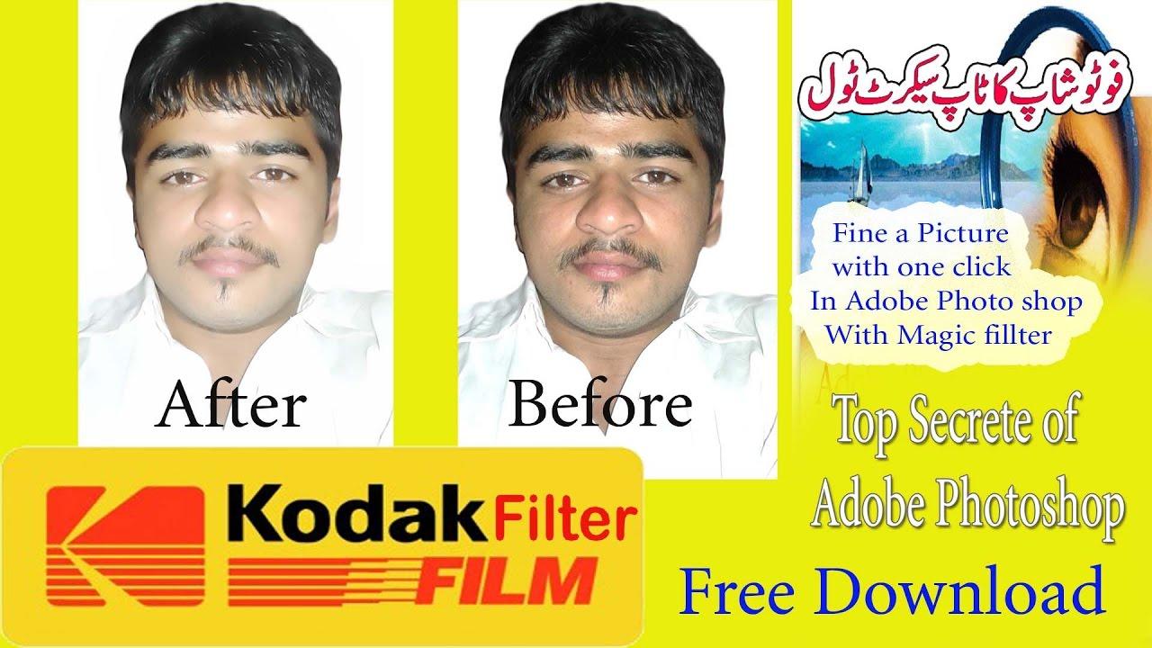 How to install & get Adobe photoshop kodak plugins kodak magic fillters