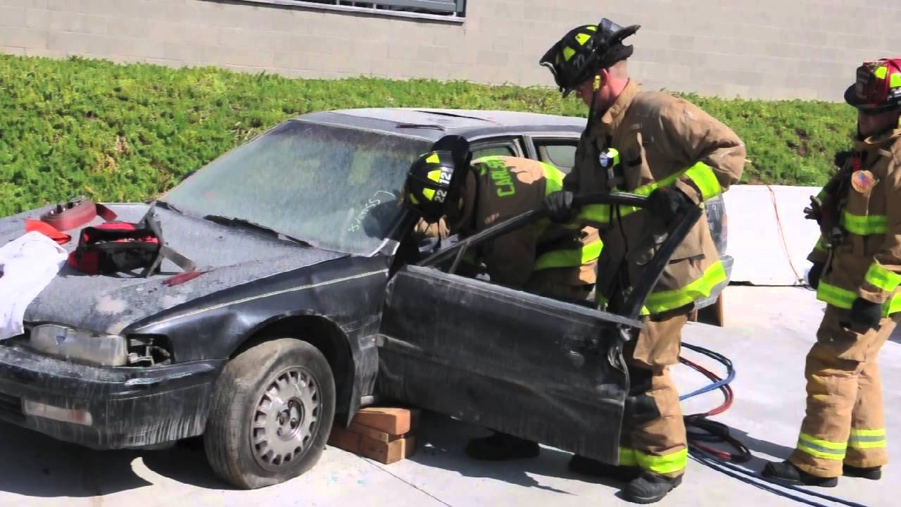 Carlsbad Fire Department Car Extrication Youtube