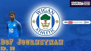 DoF Journeyman Ep 10 LaticsOfficial Football Manager 21 FM21