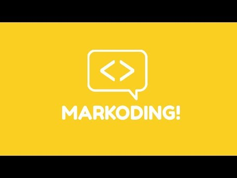 MARKODING - Let's learn coding!