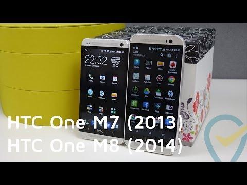 HTC One M8 vs HTC One M7 im ausführlichen Vergleich | Deutsch & HD