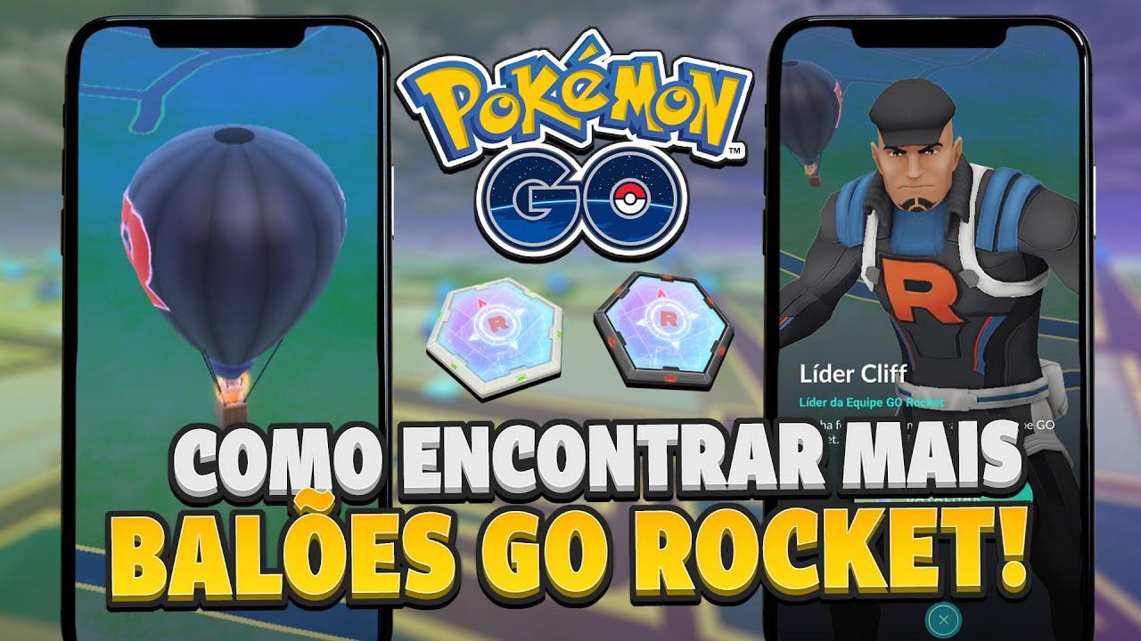 Como encontrar MAIS Balões da Equipe GO Rocket: Dicas e mais! | Pokémon GO