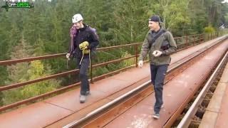 Off-limits.cz - 2016-10-15 - Hracholuská přehrada - Pňovanský most - Rope Jumping