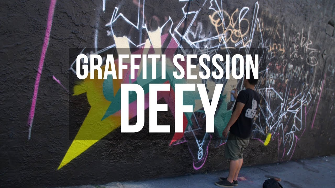 Graffiti session defy