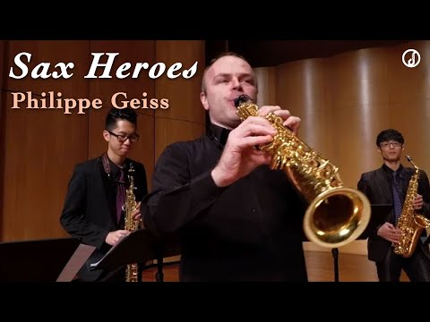 Download 【 Sax Heroes / Philippe Geiss 】
