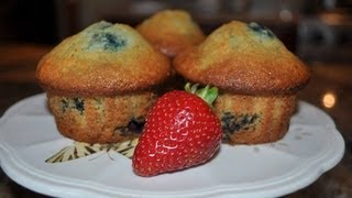 Low fat Blueberry Muffins - RECIPE Thumbnail