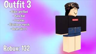 10 AWESOME ROBLOX OUTFITS (UNDER 155 ROBUX)!!!!!