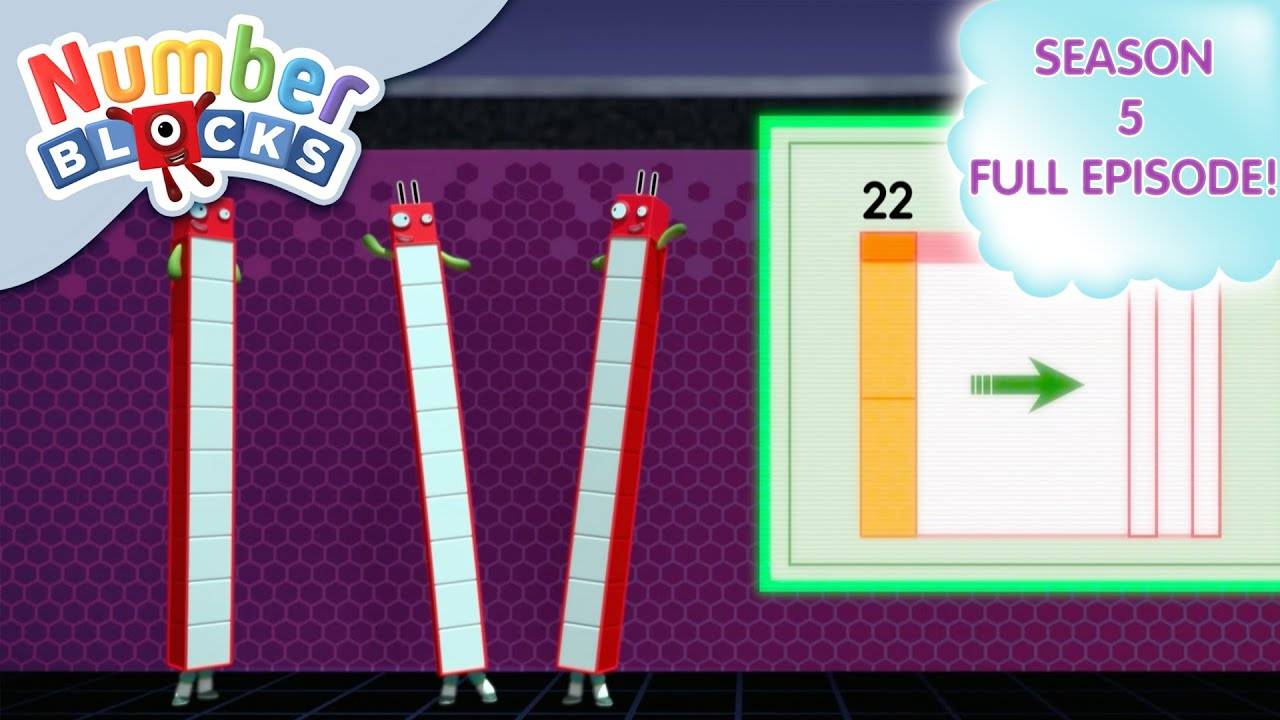 @Numberblocks-Team Tag �  Shapes   Season 5 Full Episode 14   Learn to Count