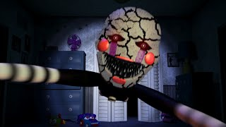 Nightmare Puppet Jumpscare?! (FNAF4)
