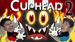 Getting Frustrated Cuphead Part 2