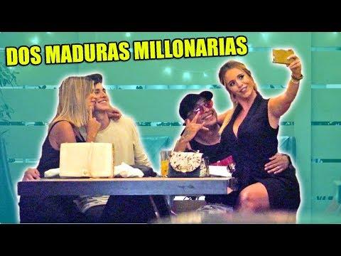 DOBLE CITA CON MADURAS MILLONARIAS EN DUBAI *no Sabían Que Grabamos*