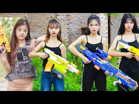 Xgirl Nerf War: Top 5 Episodes Warriors X Girl Team Nerf Guns Criminal Group Compilation from YouTube · Duration:  44 minutes 14 seconds