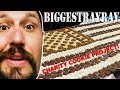 #BeBiggest - Giant cookie project - Tulsa Charity - 50 pound American Flag