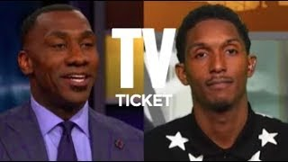 LOU WILLIAMS PULLS UP ON SHANNON SHARPE FOR CALLING HIM A DRY SNITCH!