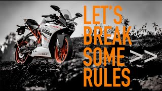 KTM RC390 | Hooliganism | Traffic | Filtering | India