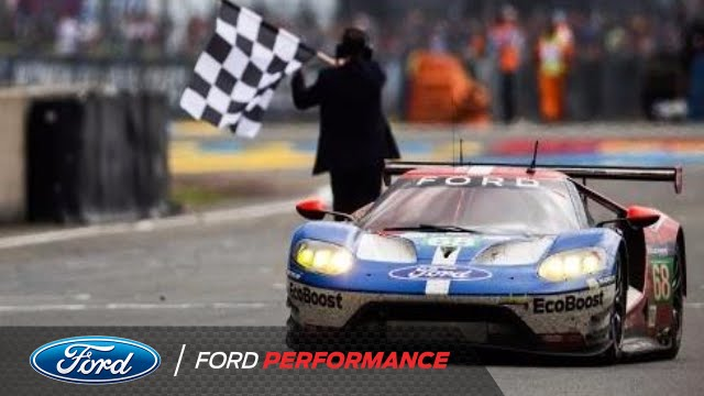 Ford Gt Claims Gte Pro Victory Le Mans Ford Performance