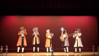 """METALES M5 MEXICAN BRASS -  Overtura de la opera """"Las bodas de Figaro""""(W.A.Mozart)"""