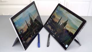 Acer Switch Alpha 12 vs Microsoft Surface Pro 4 Comparison Smackdown