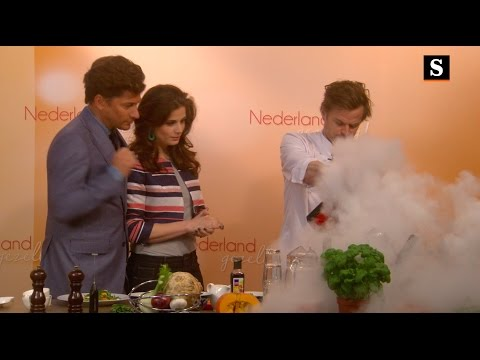 Chefkok Guido gebruikt Franse woorden tijdens het koken dus is het lekker