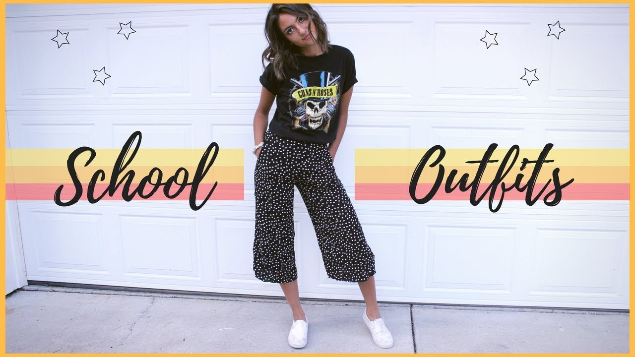 Back To School Outfit Ideas 2018-2019
