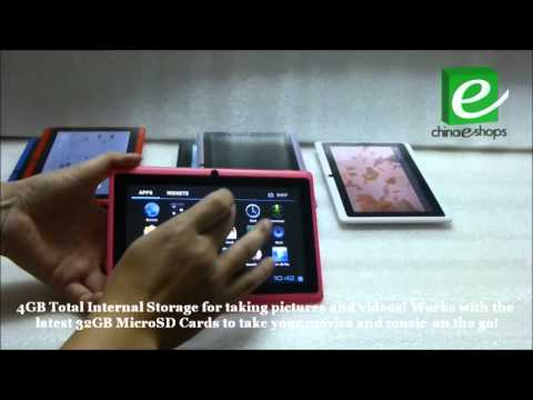 UltraThin YeahPad Q88 AllWinner A13 Tablet 7 Inch Android