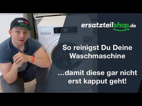 Waschmaschine Reinigen - So Geht Es!