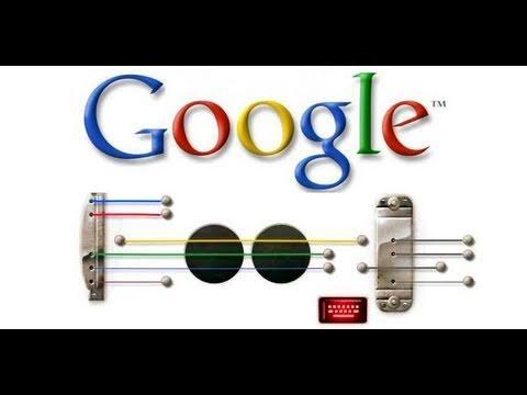 the best google guitar doodle song youtube. Black Bedroom Furniture Sets. Home Design Ideas