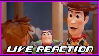 Live Reaction - Kingdom Hearts III D23 Trailer!