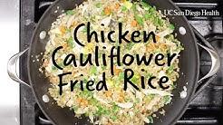 Healthy Recipe: Chicken Cauliflower Fried Rice