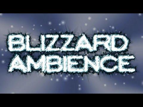 BLIZZARD, SLEEPING, MEDITATING, STUDYING, RELAXING WHITE NOISE FOR 12 HOURS