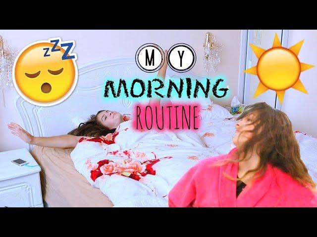 МОЁ УТРО || MY MORNING ROUTINE☀️
