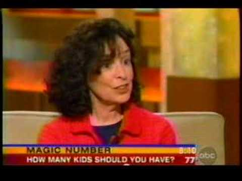 Dr  Susan Newman on Family Size on Good Morning America