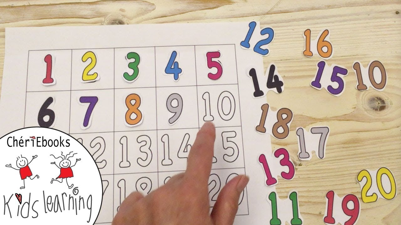 Learn 23 to 23 in English  How to Write Numbers  Counting Numbers 23to23  Toddler, Preschooler, Kids