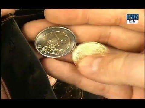 1d374512f2 Boom di monete da due euro false, ecco come riconoscerle - YouTube