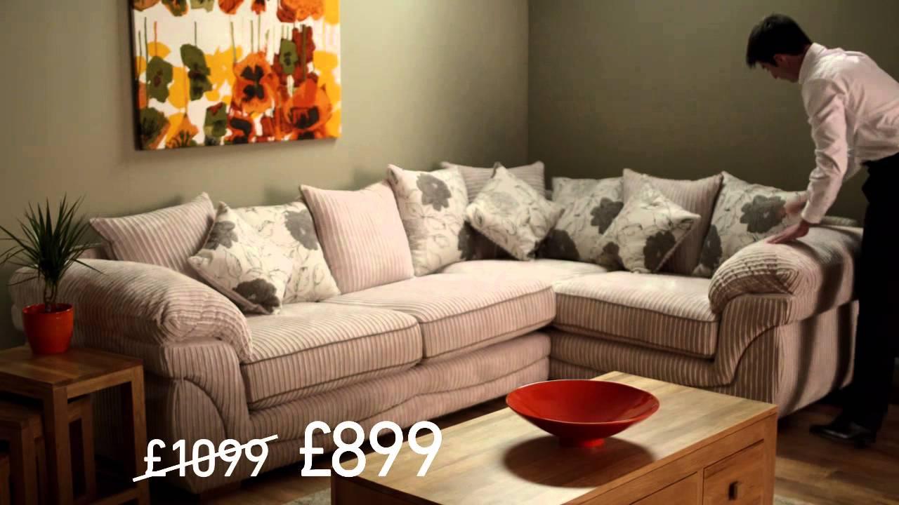 oak furniture land winter sale advert 2013 spencer sofa. Black Bedroom Furniture Sets. Home Design Ideas