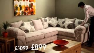 Oak Furniture Land Winter Sale Advert 2013 | Spencer Sofa