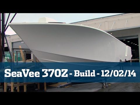SeaVee 370Z Follow The Build Part #1 - Florida Sport Fishing TV