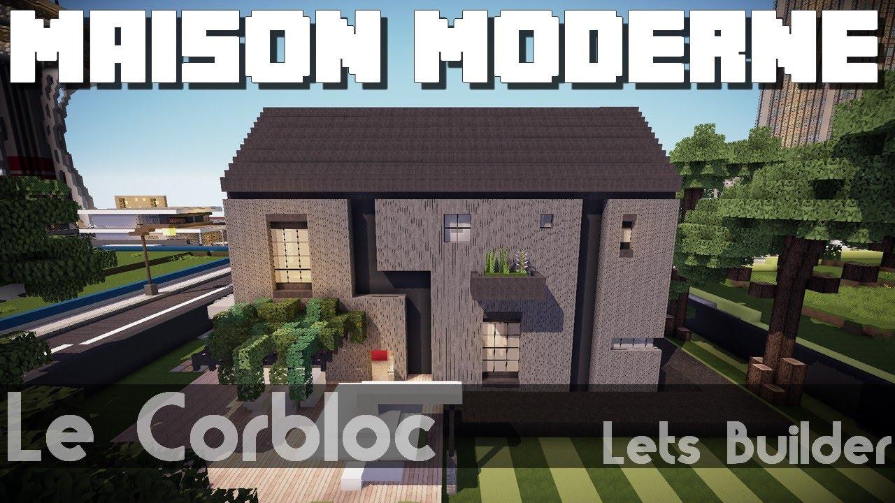 Minecraft maison moderne youtube for Minecraft modernes haus download 1 7 2