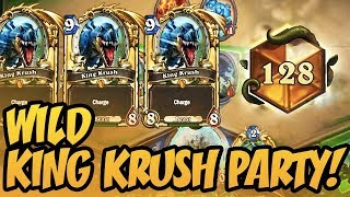 Wild King Krush Party! | Rise of Shadows | Hearthstone