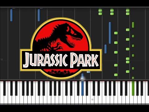 Jurassic Park - Main Theme [Piano Cover Tutorial] (♫)